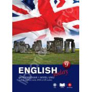English today intermediar nivelul 1 (Volumul 9). Curs de engleza (carte, DVD, CD audio)