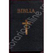 Biblia imbracata in piele si aurita