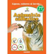 Animalele salbatice (77 autocolante)