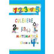 Culegere de matematice clasa a IV-a
