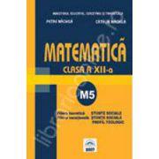 Matematica M5 manual pentru clasa a XII-a