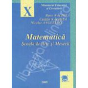 Matematica scoala de arte si meserii clasa a X-a