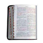 Biblia - Format mare, piele neagra, index, aurita, fermoar (Editie de lux 0CCPF)