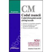 Codul muncii. Codul dialogului social si 5 legi uzuale Actualizat 22 iunie 2011