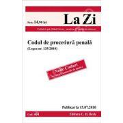 Codul de procedura penala (Legea nr. 135/2010)