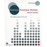 Business Grammar Builder Intermediate to Upper-Intermediate with CD