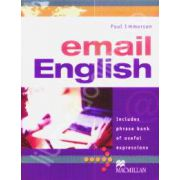 Email English. Includes phrase bank of useful expressns