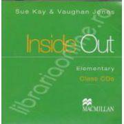 Inside Out Elementary Class CDs (2 cd-uri)