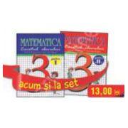 Set caiete de Matematica pentru clasa a III-a (semestrele I si II) - Stefan Pacearca, Mariana Mogos