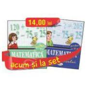 Set caiete de Matematica pentru clasa a II-a (semestrele I si II) - Rodica Chiran