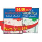 Set caiete de Matematica pentru clasa a I-a (semestrele I si II) - Aurel Maior, Elena Maior