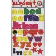 Alfabet litere mici. Joc didactic