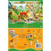 Animale din padure - carte 3D