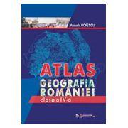 Atlas - Geografia Romaniei, clasa a IV-a