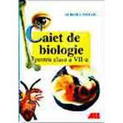 Biologie - caiet pentru clasa a VII-a