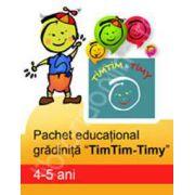 Pachet educational gradinita 'TimTim-Timy' (4-5 ani)