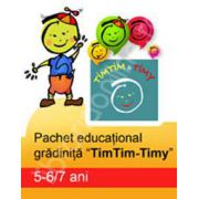 Pachet educational gradinita 'TimTim-Timy' (5-6/7ani)