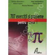 Culegere de matematica 707 exercitii si probleme pentru clasa I