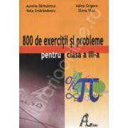 Culegere de matematica 800 exercitii si probleme pentru clasa a III-a