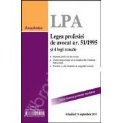 Legea profesiei de avocat nr. 51/1995 si 4 legi uzuale (Statutul profesiei republicat)