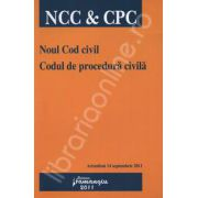 Noul Cod civil. Codul de procedura civila (Actualizat 14 septembrie 2011)