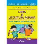 Limba si literatura romana. Caiet de lucru clasa a II-a - Cristian Preda