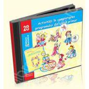 Set de 2 cd-uri audio pentru activitati in completarea programului din ciclul primar