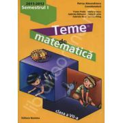 Teme de matematica clasa a VII-a, semestrul I (2011-2012)