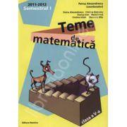 Teme de matematica clasa a V-a, semestrul I (2011-2012)