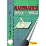 Matematica. Manual pentru clasa a VIII-a, Radu