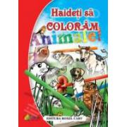 Carte de colorat. Haideti sa coloram Animale