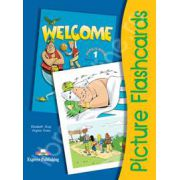 Welcome 1 flashcards. Picture flashcards, limba engleza Welcome 1