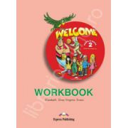 Welcome 2 (AB) workbook. Caiet pentru clasa a IV-a de limba engleza Welcome 2