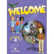Welcome 3 (SB) pupil's book. Manual pentru clasa a V-a de limba engleza Welcome 3