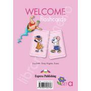 Welcome starter A flashcards. Curs de limba engleza welcome starter A