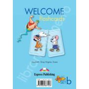 Welcome starter B flashcards. Curs de limba engleza welcome starter B