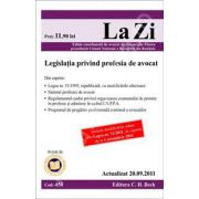 Legislatia privind profesia de avocat. Actualizat la 20.09.2011