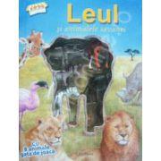 Leul si animalele Savanei. Cu 8 animale gata de joaca