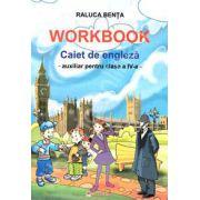 Caiet de limba engleza. Auxiliar pentru clasa a IV-a (Workbook)