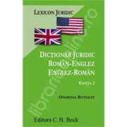 Dictionar juridic roman-englez/englez-roman (editia 2)