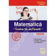 Evaluare nationala 2012. Matematica - teste