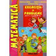 Exercitii si probleme de matematica pentru clasele II-IV