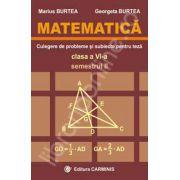 Matematica. Clasa a VII-a. Culegere de probleme si subiecte pentru teze. Semestrul II
