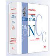 Noul Cod civil. Volumul. I. ( Art. 1-1163). Adnotat cu doctrina si jurisprudenta