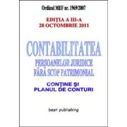 Contabilitatea persoanelor juridice fara scop patrimonial.Editia a III-a - 28 octombrie 2011