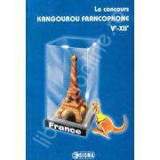 Cangurul francofon (lingvist). Le concurs Kangourou francophone 5e-12e (edition 2005-2011)