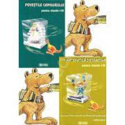 Colectia ,,Concursul Cangurul' pentru clasele I-IV. Matematica distractiva si povestile cangurului (Teste grila)