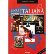 Limba italiana. Manual pentru clasa a IX-a, limba I