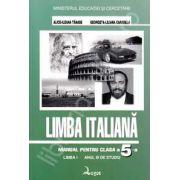 Limba italiana. Manual pentru clasa a V-a. Limba I, anul 3 de studiu