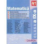Matematica M1 clasa a IX-a (Culegere de probleme)